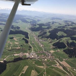 Gutschein Rundflug Appenzellerland